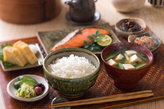 Ăn sáng ở Nhật Bản