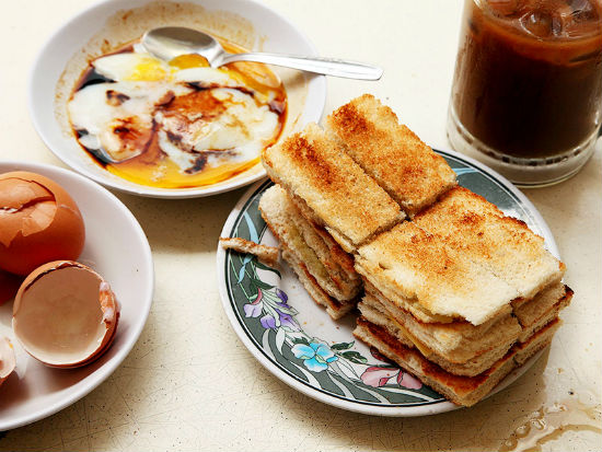 Ăn sáng Singapore