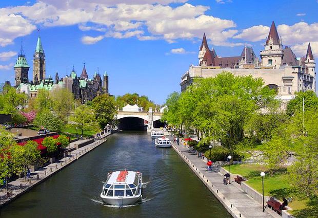 vé máy bay giá rẻ đi Ottawa