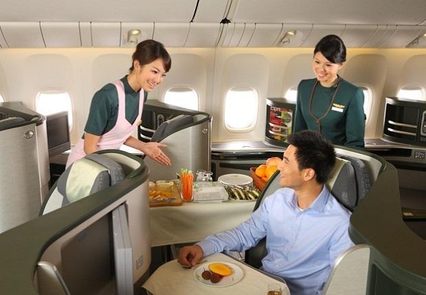 các dịch vụ của hãng Eva Air