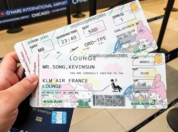 Mua vé máy bay giá rẻ hãng Eva Air