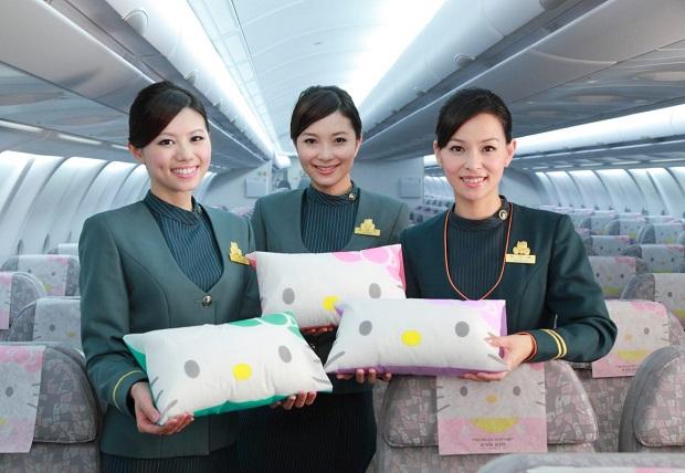 vé máy bay giá rẻ Eva air