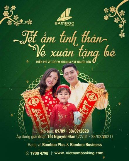 ve may bay tet bamboo airways 2021