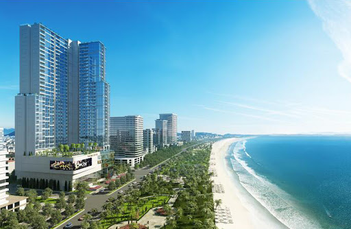 Khách sạn Vinpearl Nha Trang có view biển đẹp