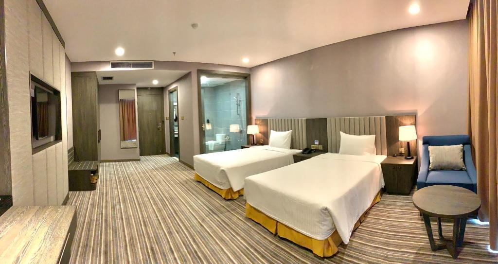Phòng khách sạn khách sạn Mường Thanh Luxury Sài Gòn