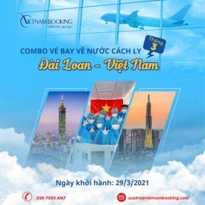 Lịch chuyến bay charter từ Đài Loan về Việt Nam mới nhất