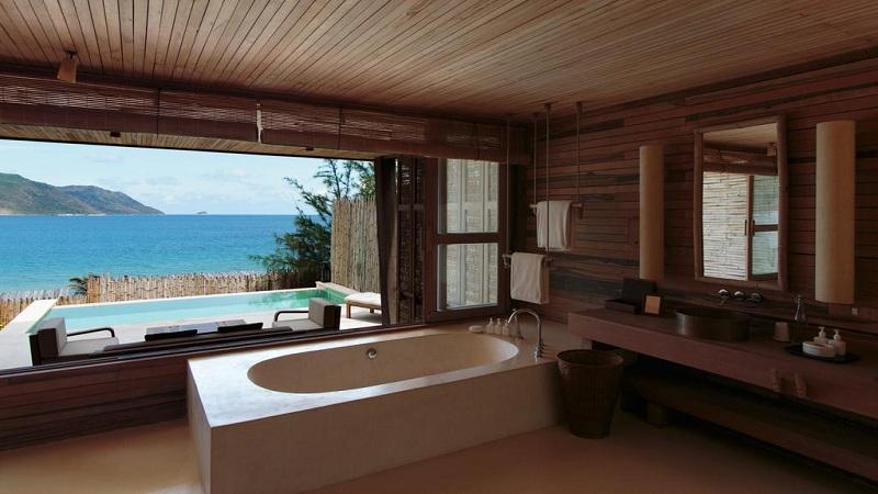 Phòng nghỉ tại Six Senses Côn Đảo Resort