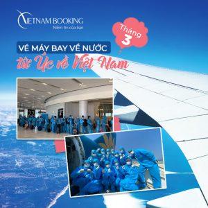 Cập nhật thông tin chuyến bay từ Úc về Việt Nam