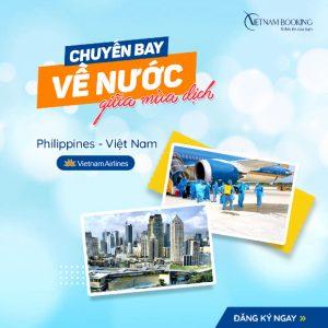Chuyến bay từ Philippines về Việt Nam mới nhất |T3/2021