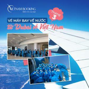 Những điều cần biết về vé máy bay từ Dubai về Việt Nam | Tháng 3/2021
