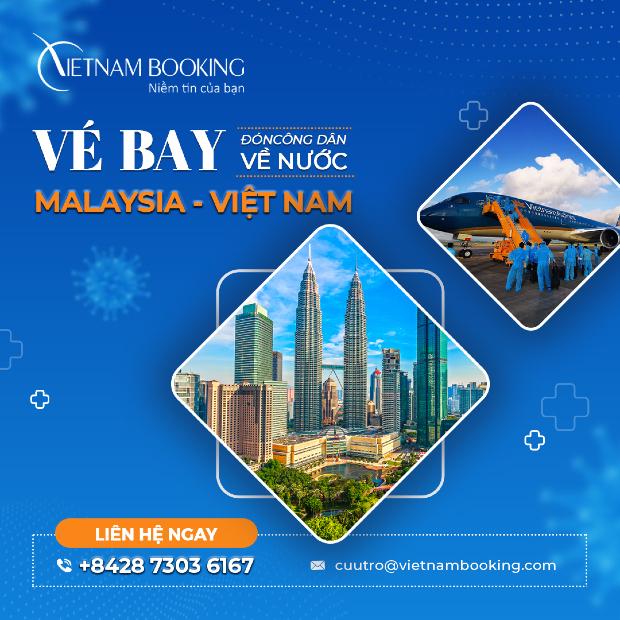 [MỚI NHẤT] Cập nhật lịch bay các chuyến bay từ Malaysia về Việt Nam