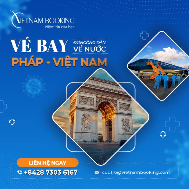 Thông tin tình hình các chuyến bay từ Pháp về Việt Nam