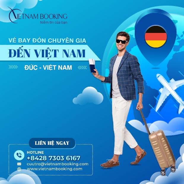 Chuyến bay đón chuyên gia từ Đức về Việt Nam
