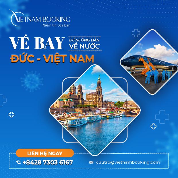 Lịch trình các chuyến bay từ Đức về Việt Nam tháng 6/2021