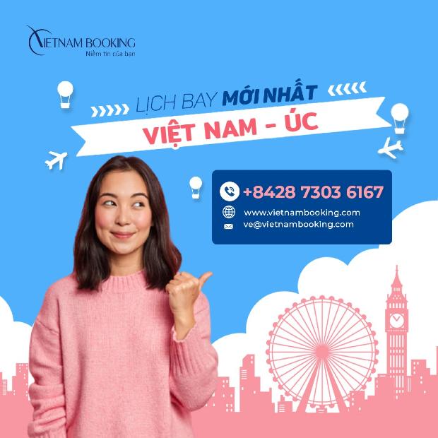 vé máy bay từ Việt Nam đi Úc