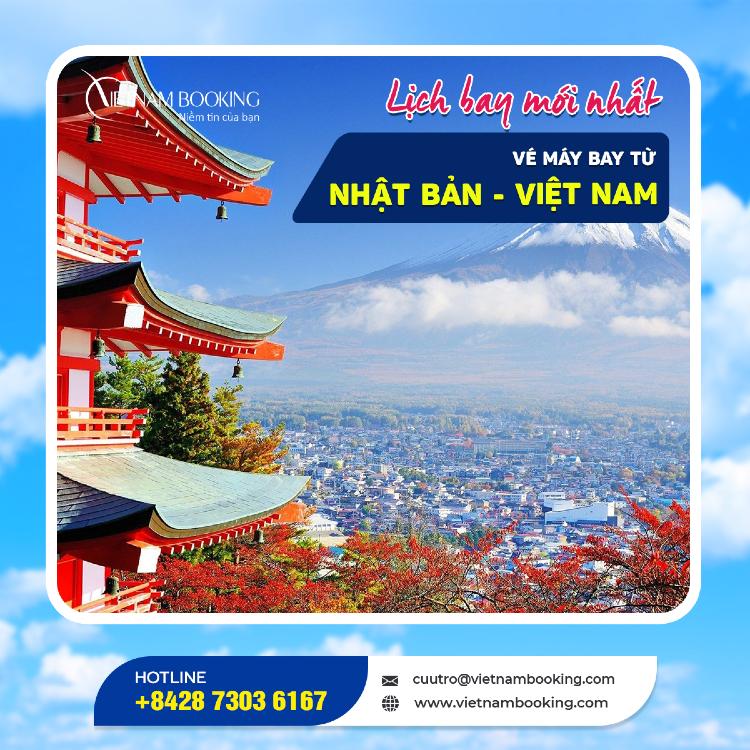 Chuyến bay từ Nhật Bản về Việt Nam